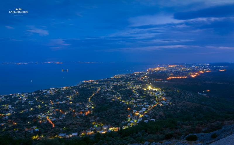 Chios Panoramic View
