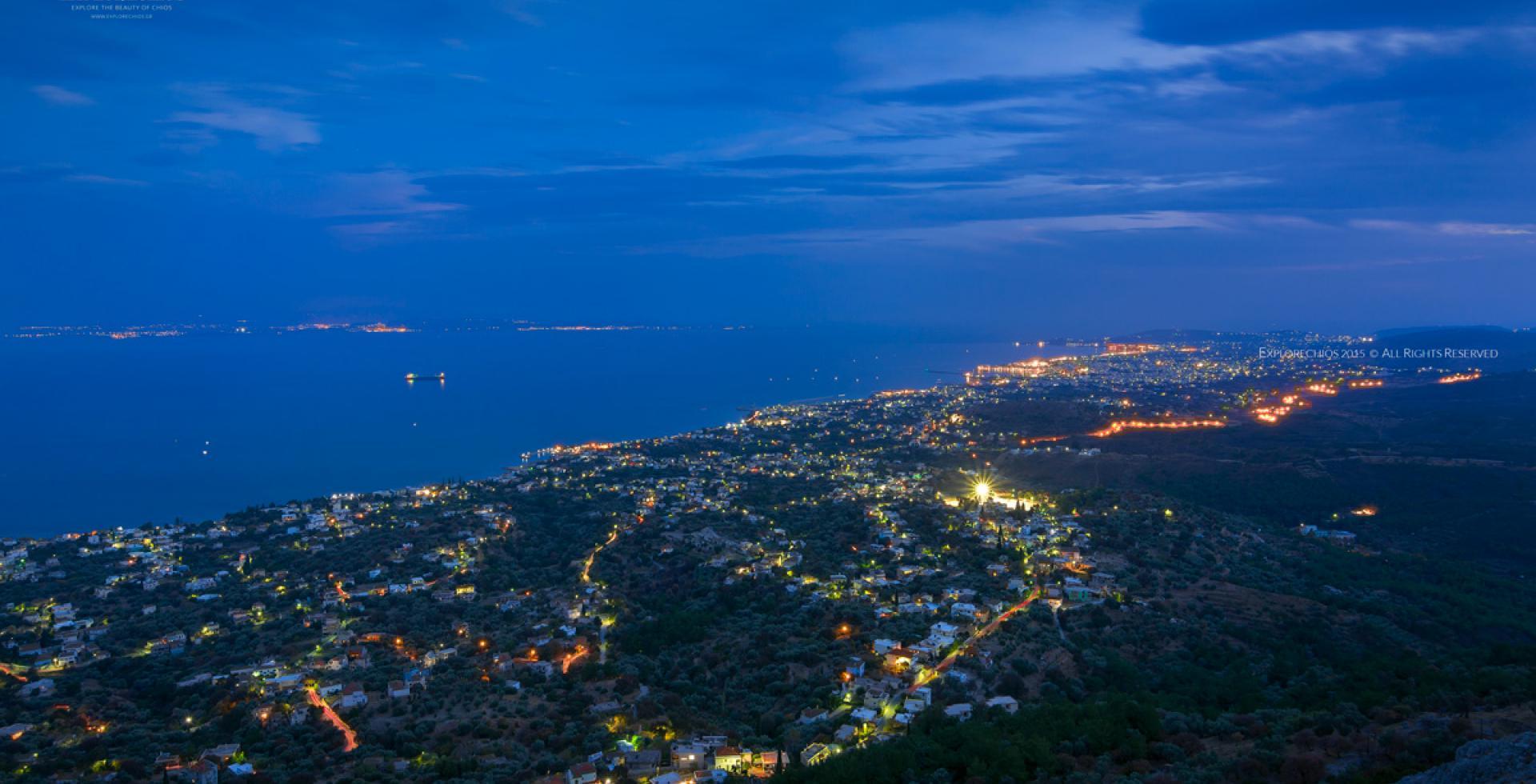 Chios Panoramic View